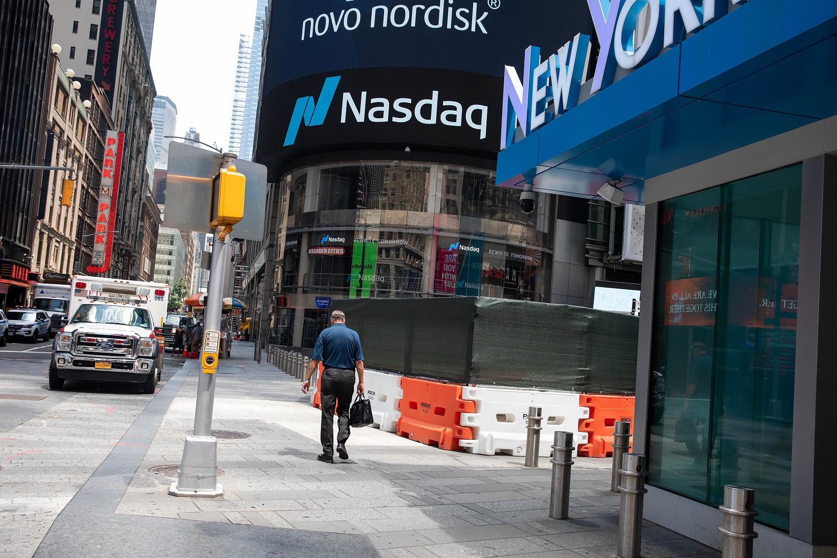 US stocks open mixed amid rallying tech shares, coronavirus concerns