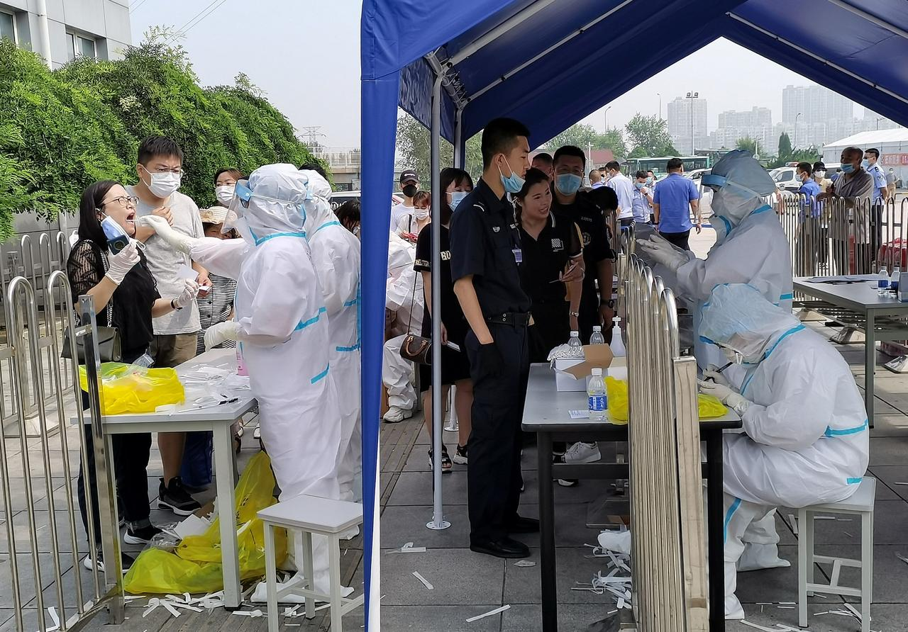 NE China city tests 1.25 mln in a day after new COVID-19 cases reported