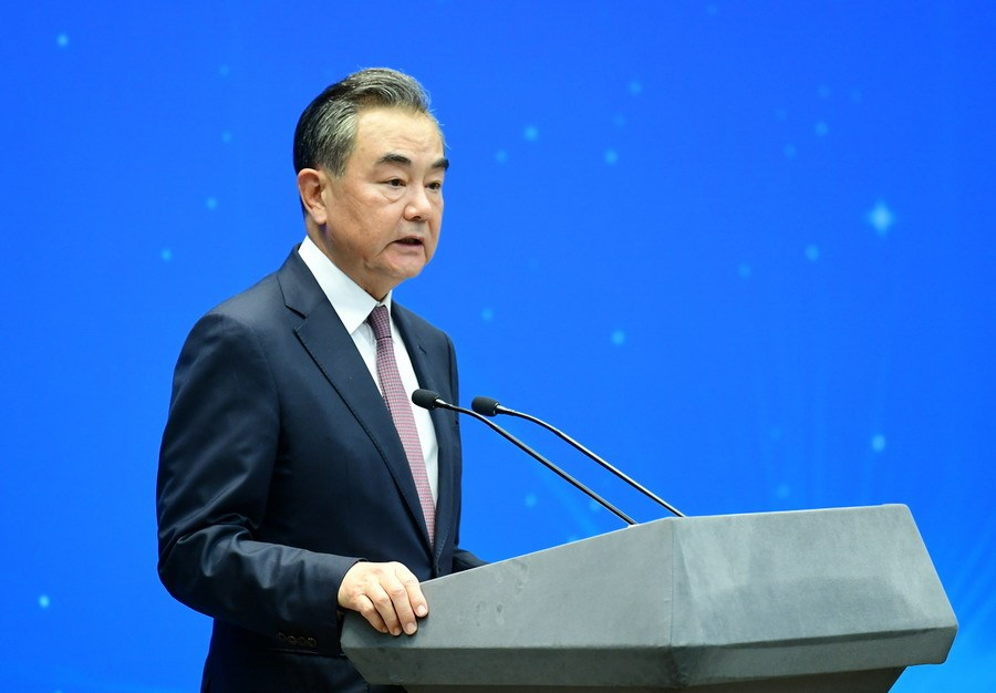 Chinese FM to host video meeting of four FMs