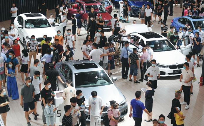 Chengdu auto show a sign of enthusiasm, resolution