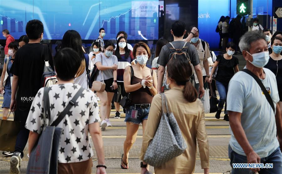Hong Kong reports 145 new COVID-19 cases, anti-epidemic measures to be tightened