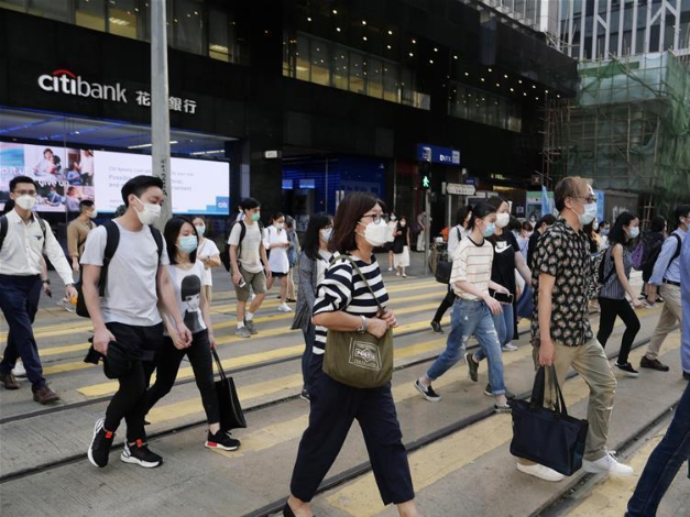 New COVID-19 cases surpass 100 for 7th day in Hong Kong