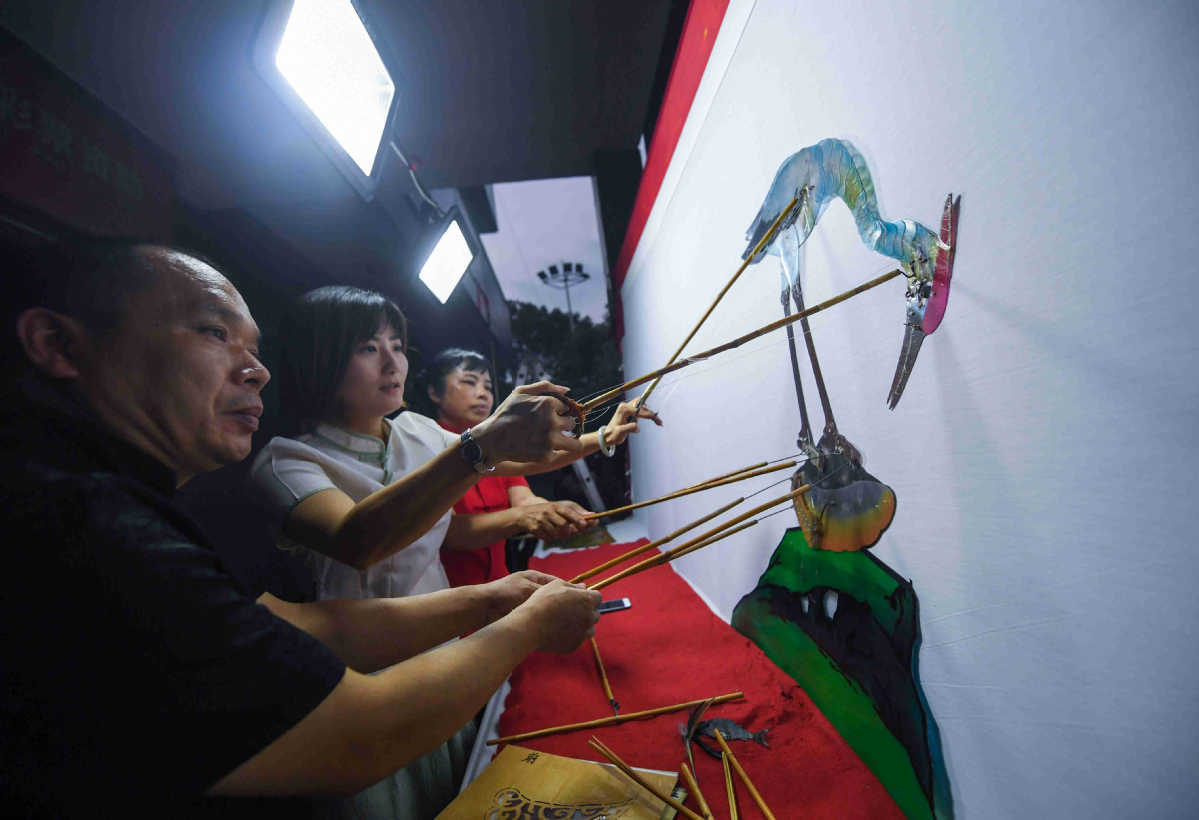 Puppet maker shapes future of traditional craft