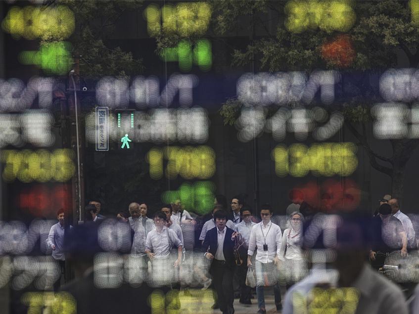 Tokyo stocks open flat