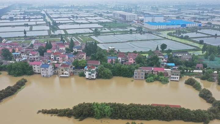 Over 54.8 mln people affected by floods in China