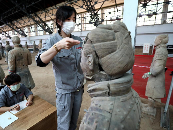 WeChat program on Terracotta Warriors launched