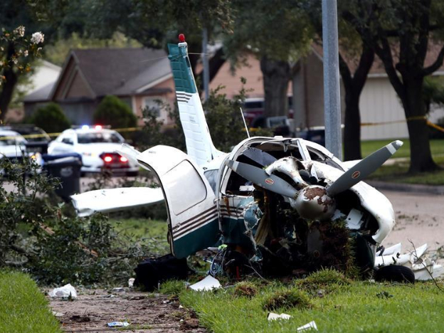Two injured in small plane crash in US Texas