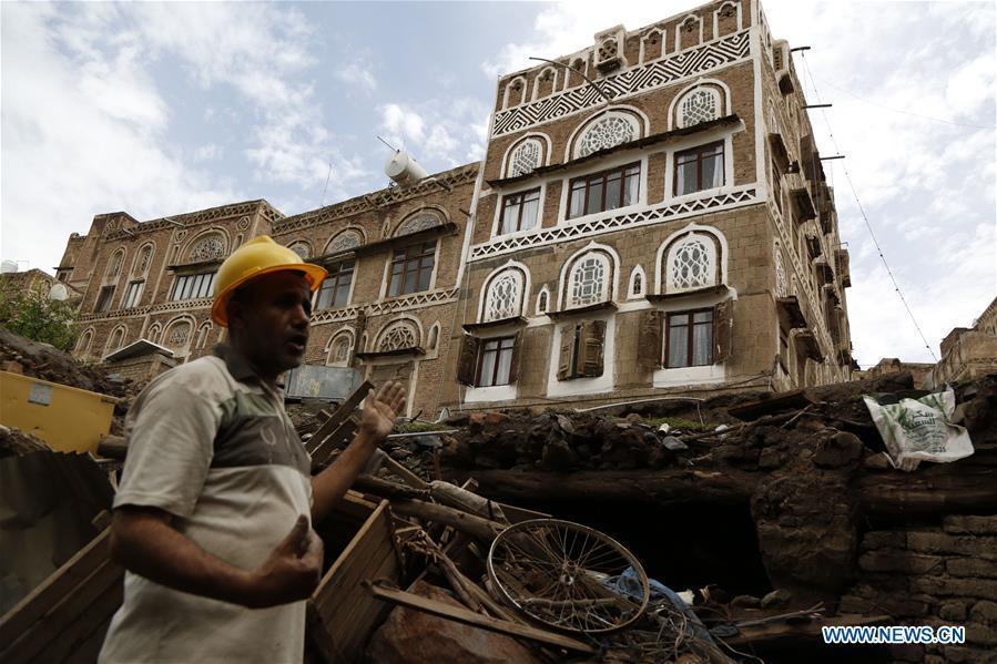 Torrential rains put historic sites at risk in Yemen