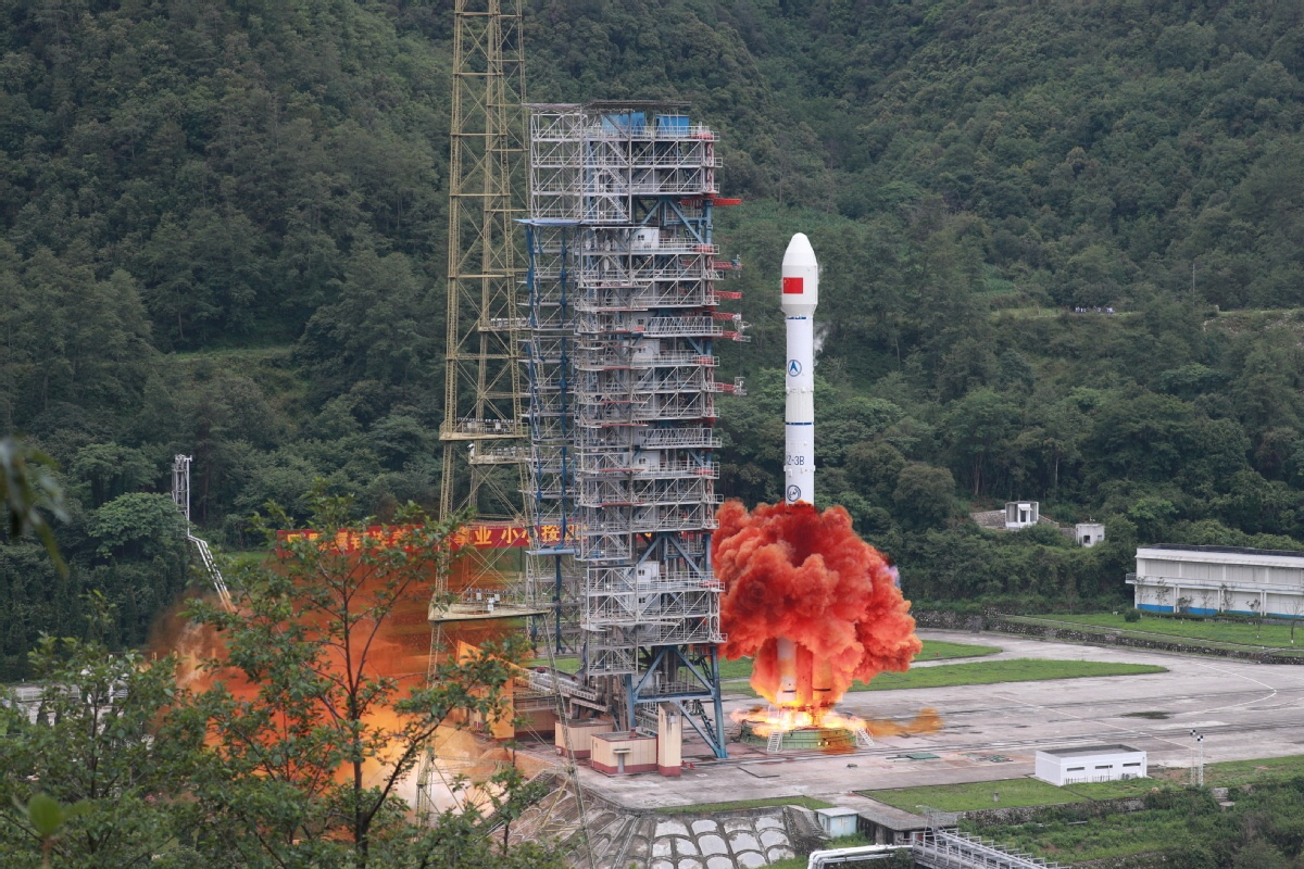 Full global service of Beidou signals space tech independence