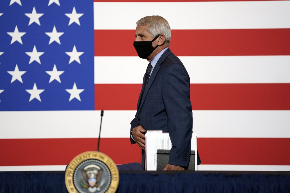 Fauci back on Capitol Hill as virus surge drives new fears