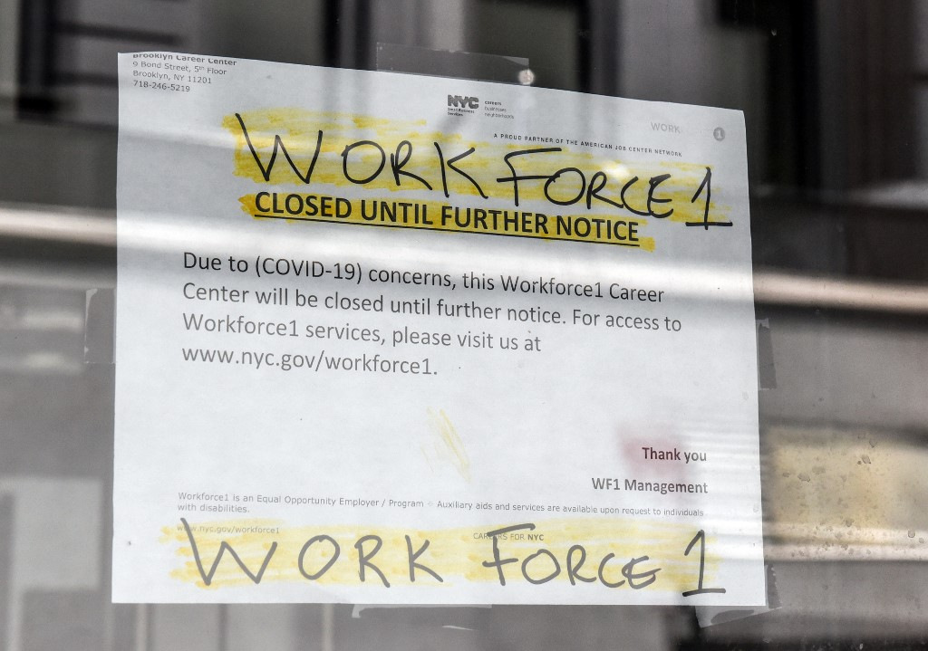 New York offers extra unemployment benefits