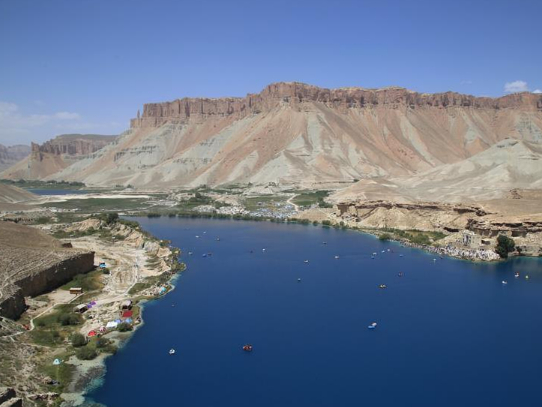 View of Band-e-Amir lakes in Afghanistan