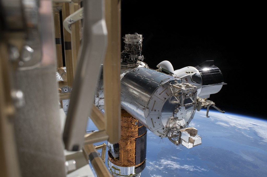 SpaceX Crew Dragon undocks from International Space Station