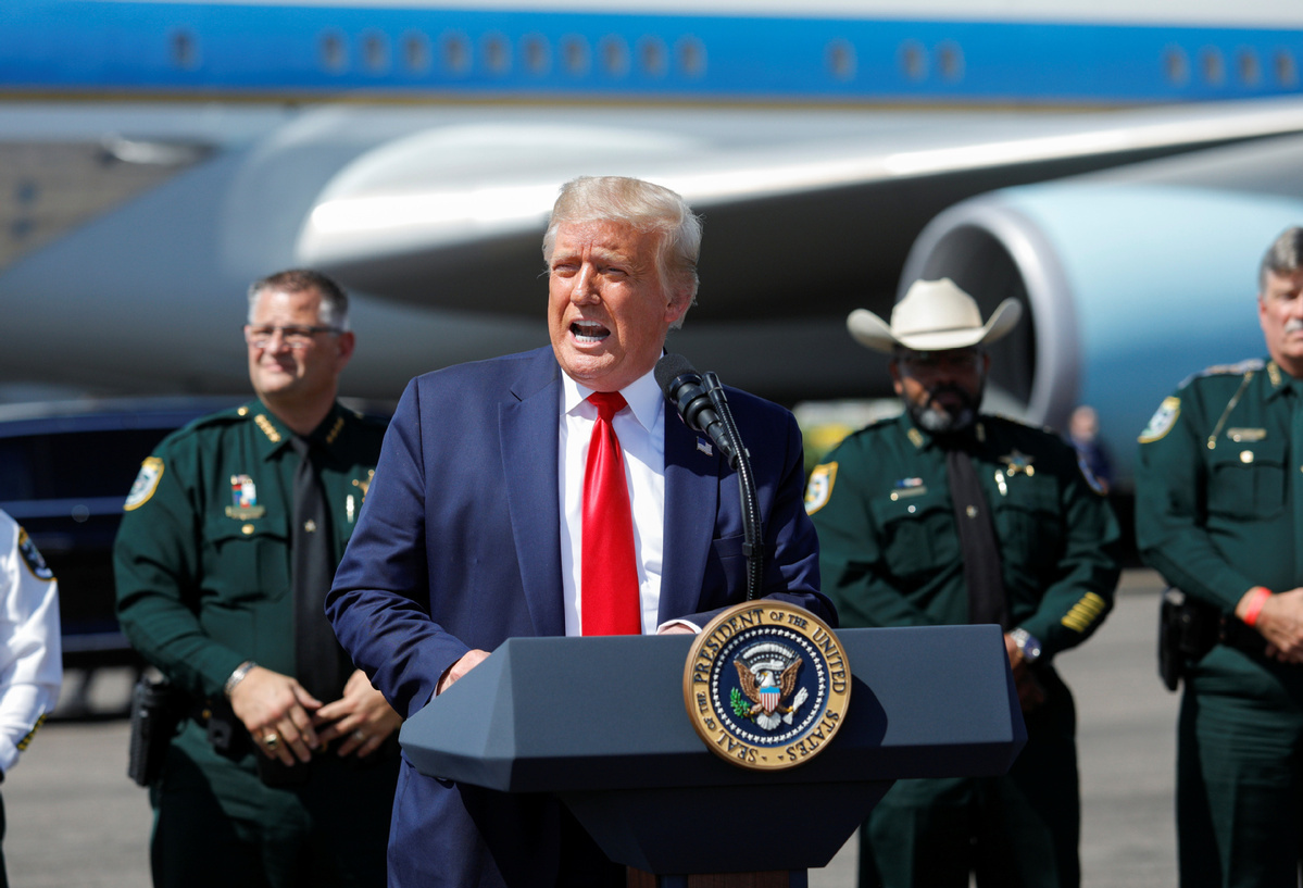 Two-thirds of Americans disapprove of Trump's handling of COVID-19: poll