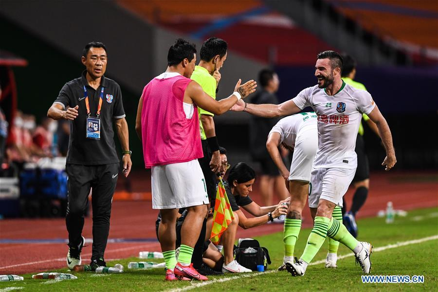 Alessandrini at the double as Qingdao draws with Shijiazhuang in CSL