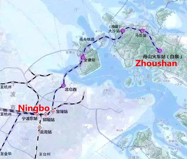 Technical plan for 1st high speed rail with undersea tunnel completed