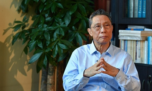 China mulls awarding Zhong Nanshan 'Medal of the Republic' and 'national honorary title' to those who contributed to fight against COVID-19