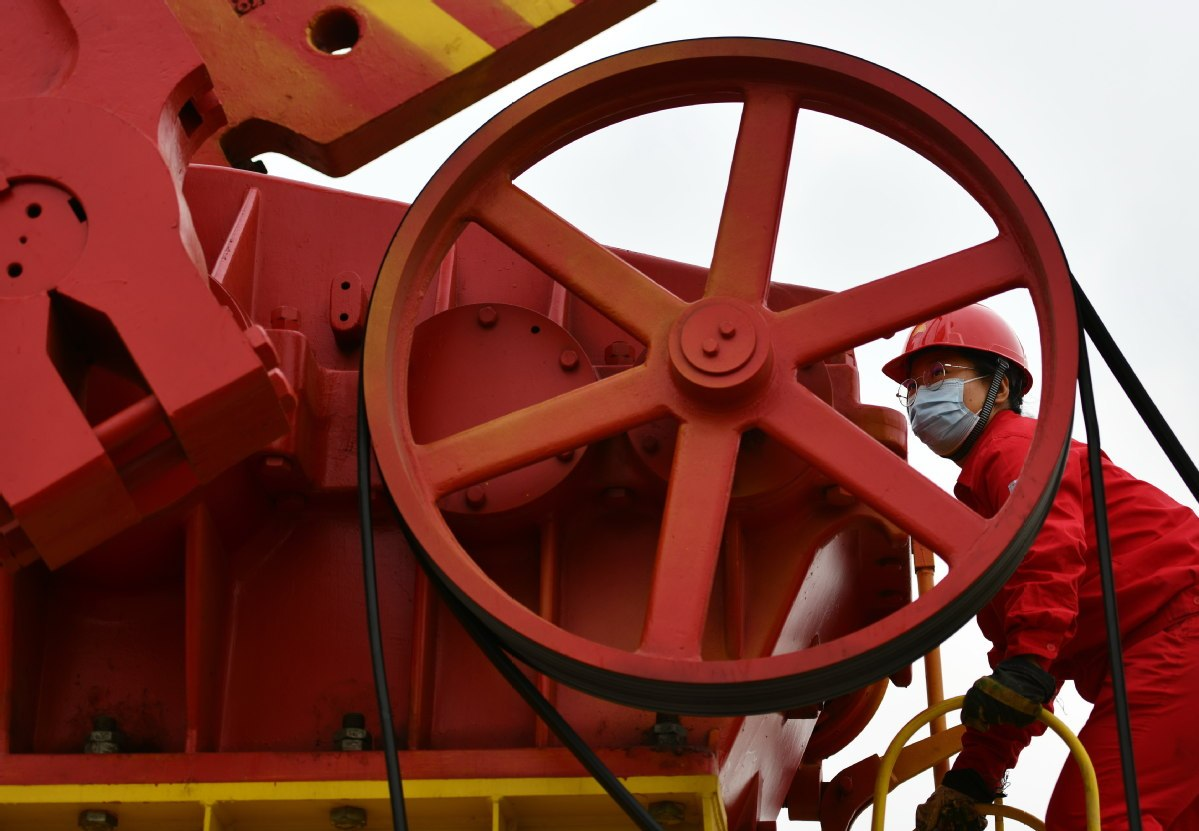 China's oil, gas exploration investment hits record high in 2019