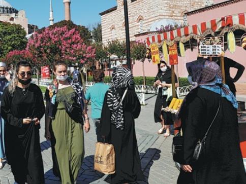 Inbound tourism to Turkey making gradual recovery