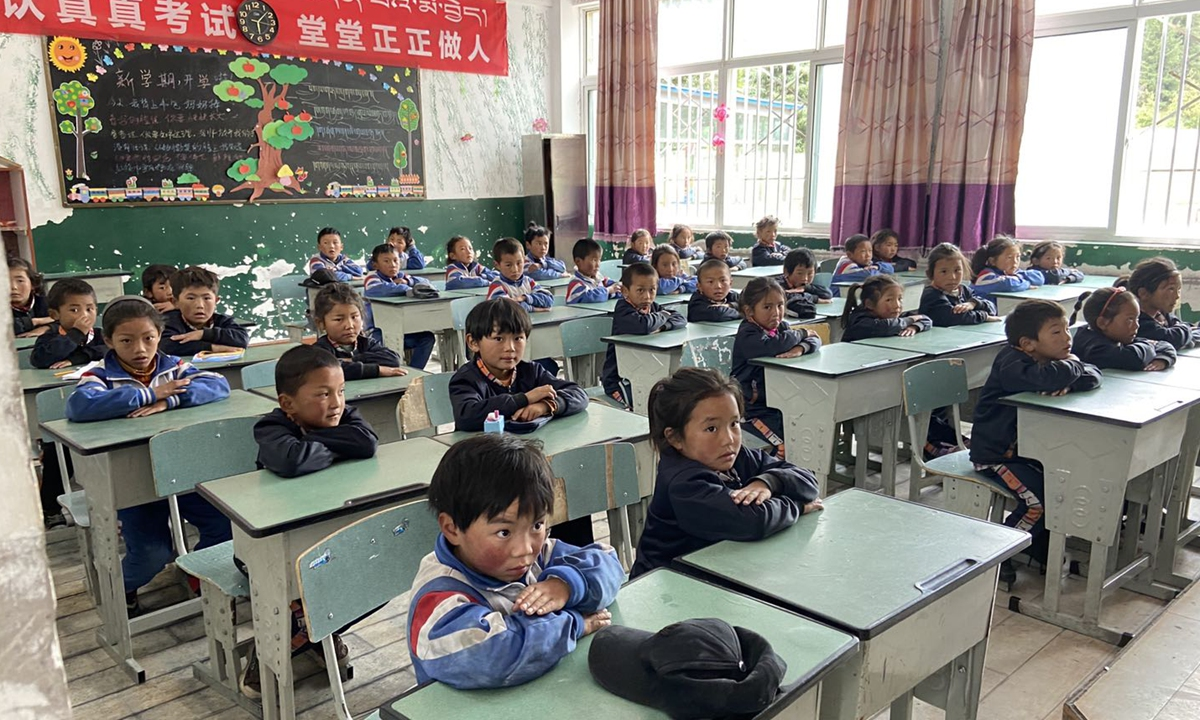 More Tibetan parents send children to school after central govt's nationwide targeted poverty alleviation campaign