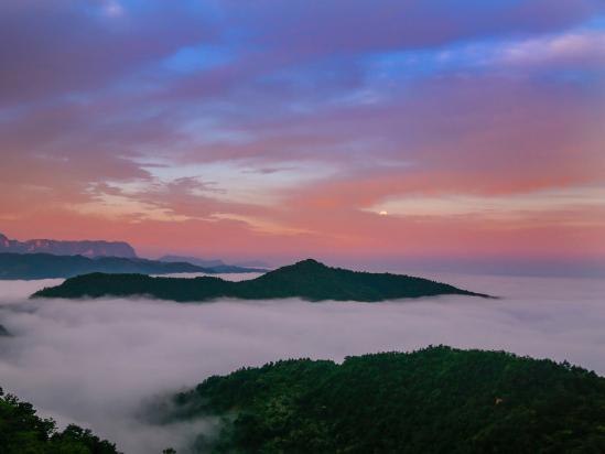 Nature's mist makes for breathtaking scenes