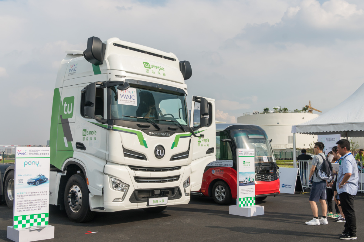 Driverless trucks to revamp road delivery network