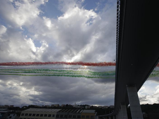 Italy inaugurates new Genoa bridge two years after collapse