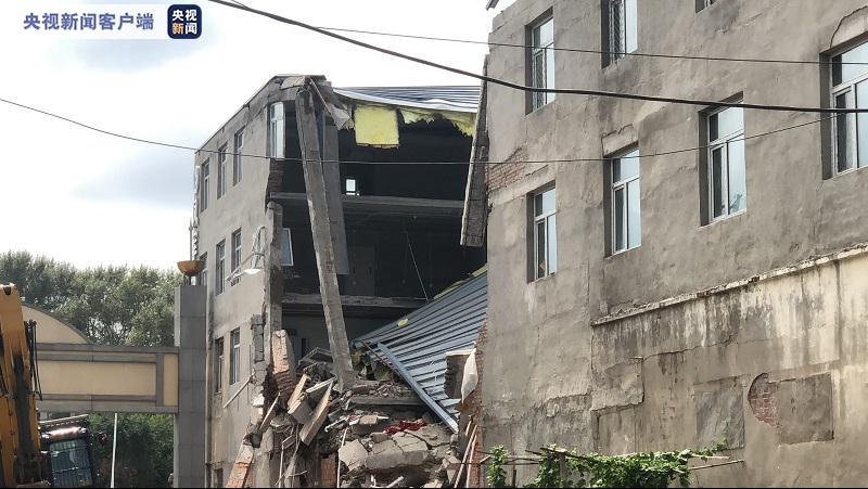 At least four dead after warehouse collapse in NE China