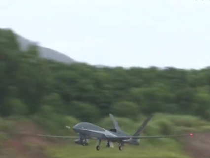 Wing Loong-10 drone makes typhoon detection debut