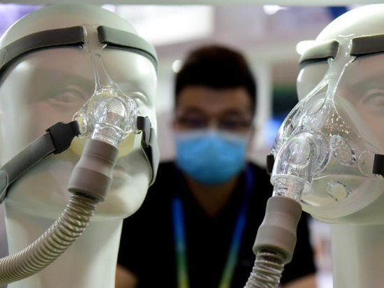 Medical equipment exhibition held in Zhengzhou, China's Henan
