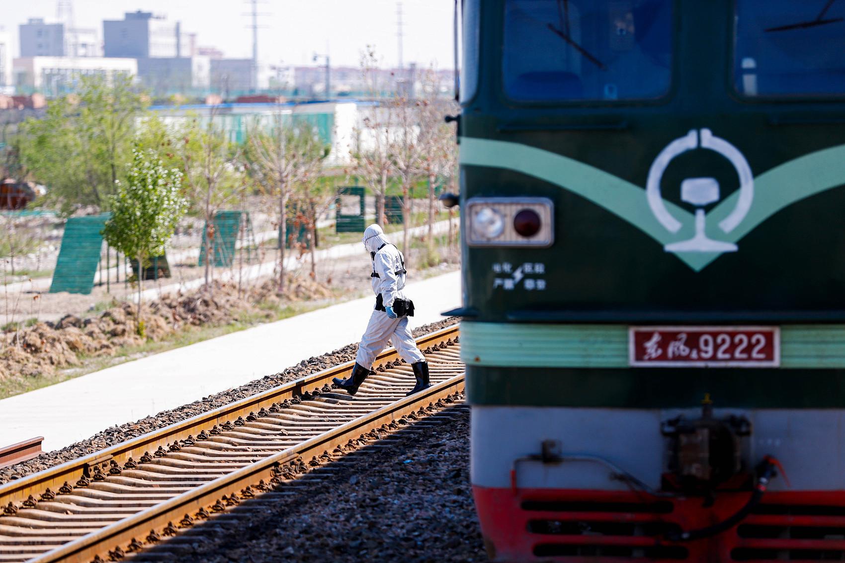 Border port in Xinjiang facilitates customs clearance