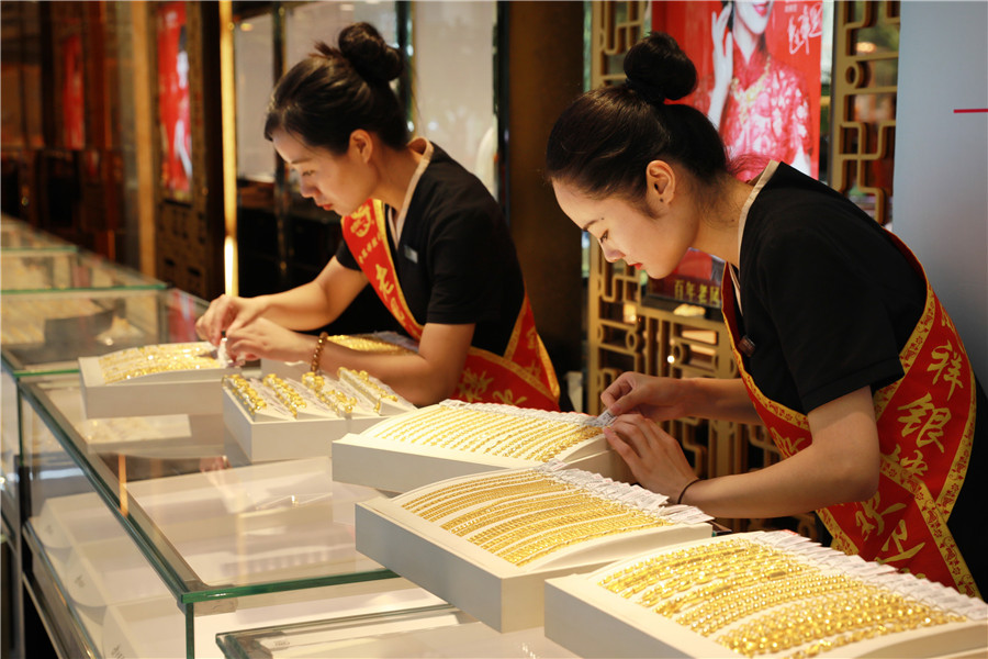 Shanghai gold futures close higher