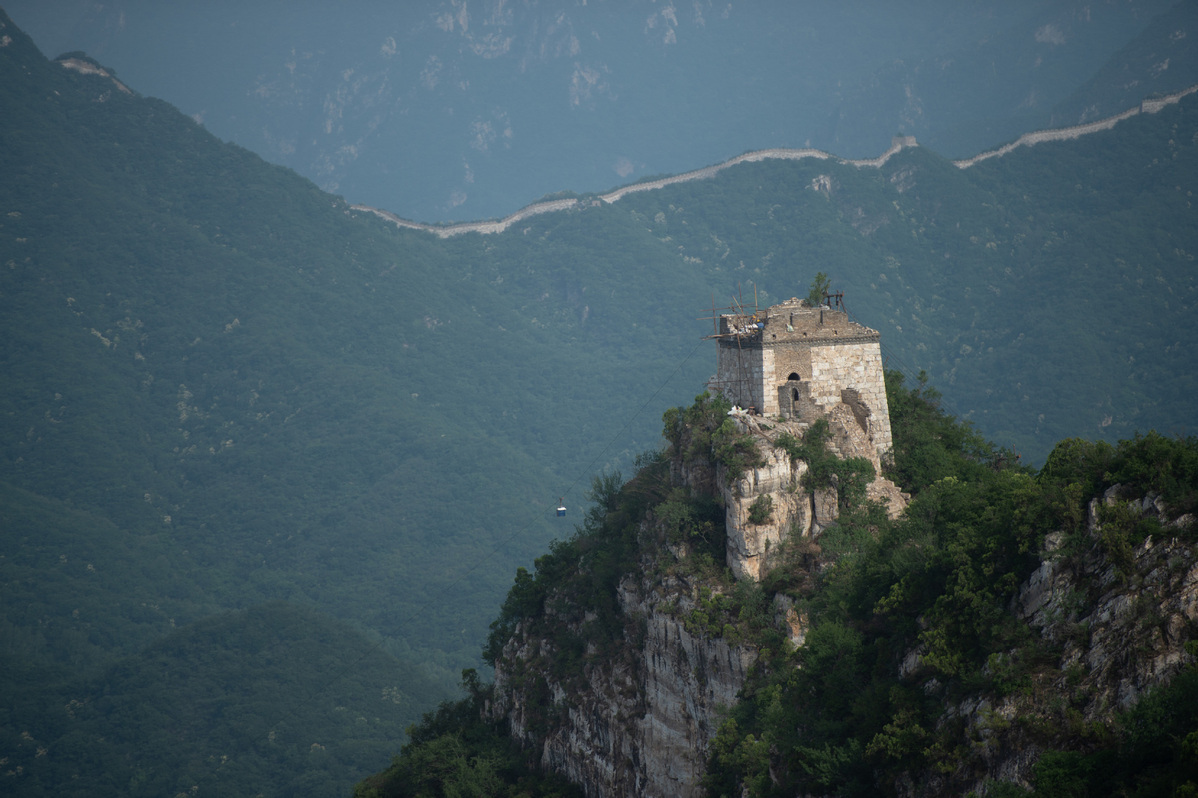 Shutterbugs spotlight ancient Great Wall in Northwest China