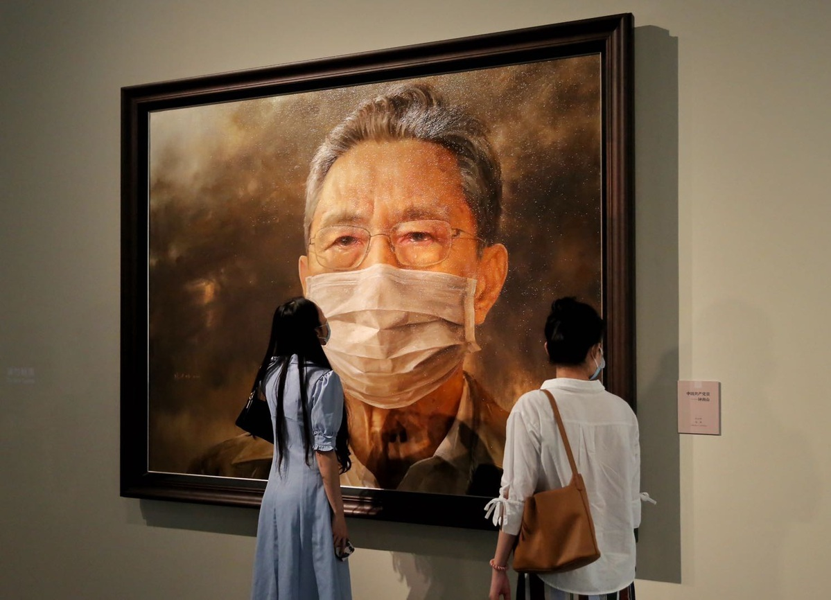 Fight against pandemic at the heart of Beijing exhibition