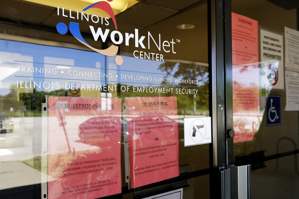 US companies cut back sharply on hiring in July
