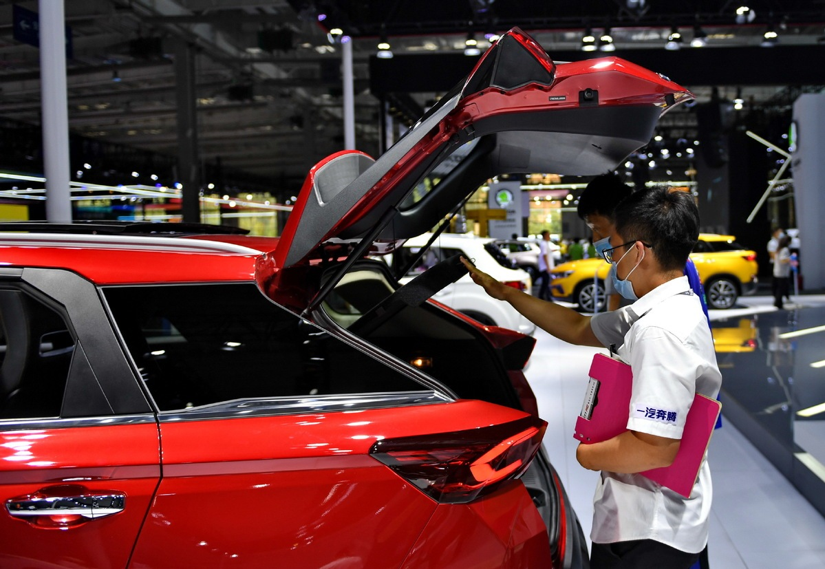 CAAM: China's vehicle sales expected to rise 15% in July
