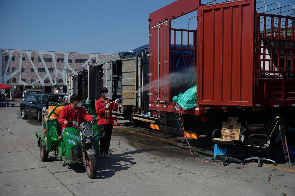 Beijing speeds up process to reopen Xinfadi market