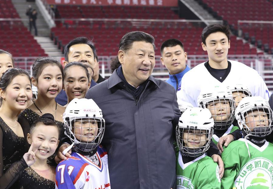 President Xi pioneers national fitness policy