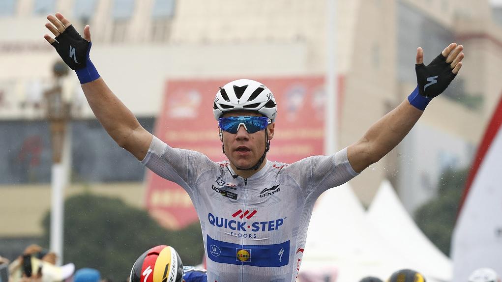 Cyclist Groenewegen 'sorry' after crash put Jakobsen in coma