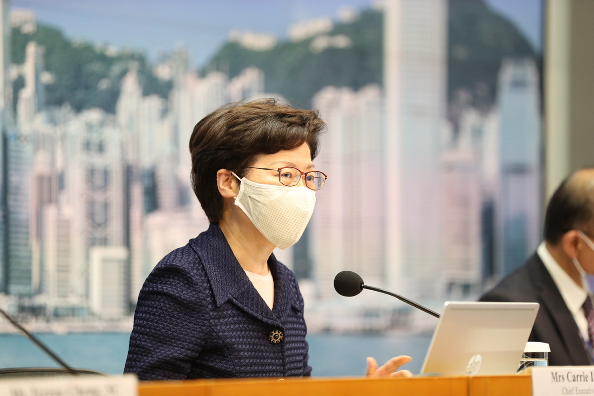 HK offers free virus testing to all residents
