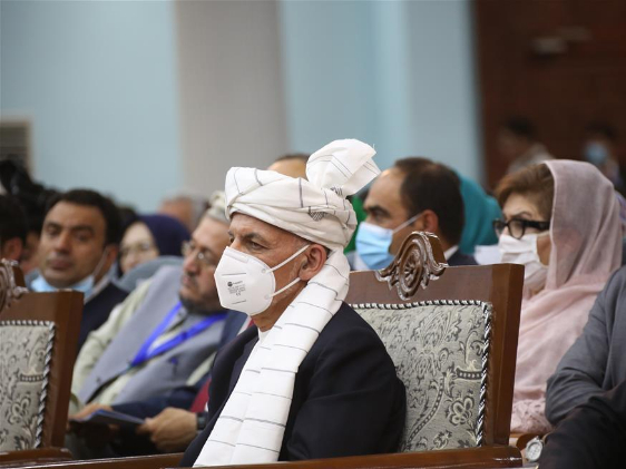President Ghani emphasizes durable peace as Afghans gather to decide fate of 400 Taliban inmates