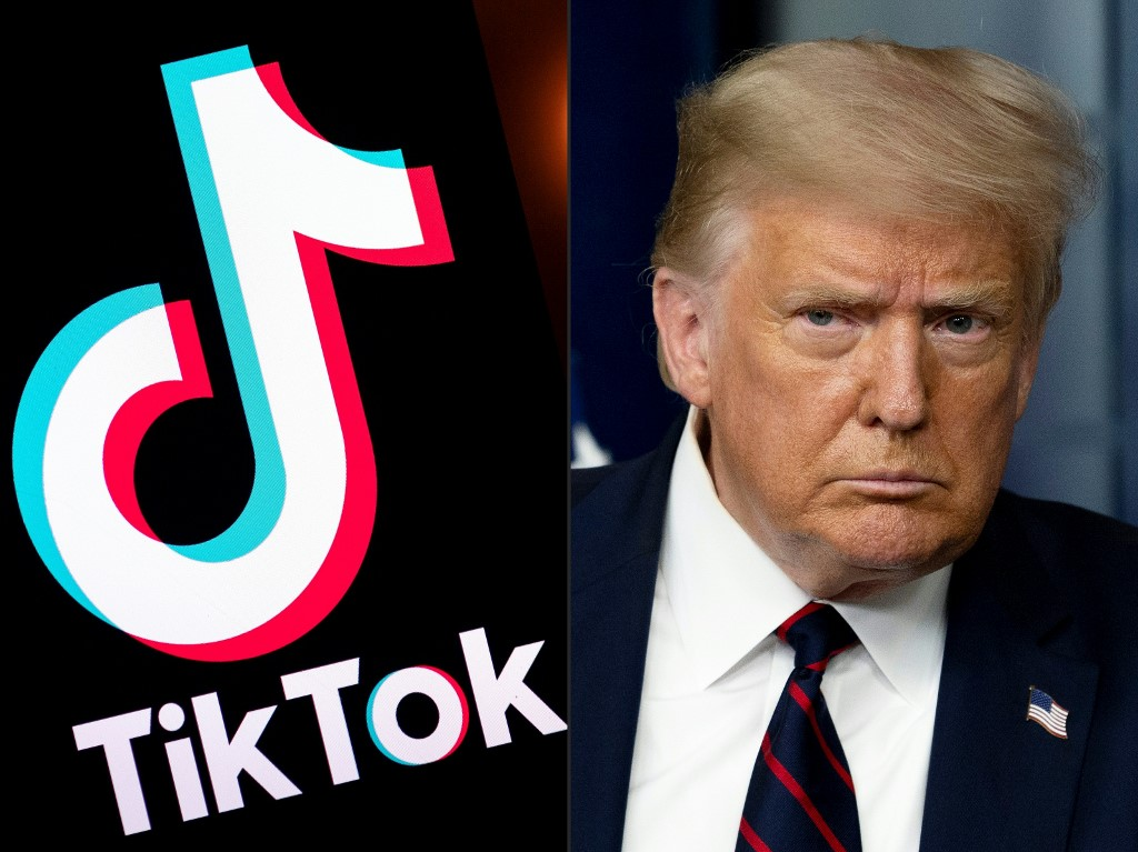 Trump signs executive order barring TikTok transactions with parent company