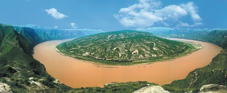 Picture-perfect Shanxi-Shaanxi Grand Gorge