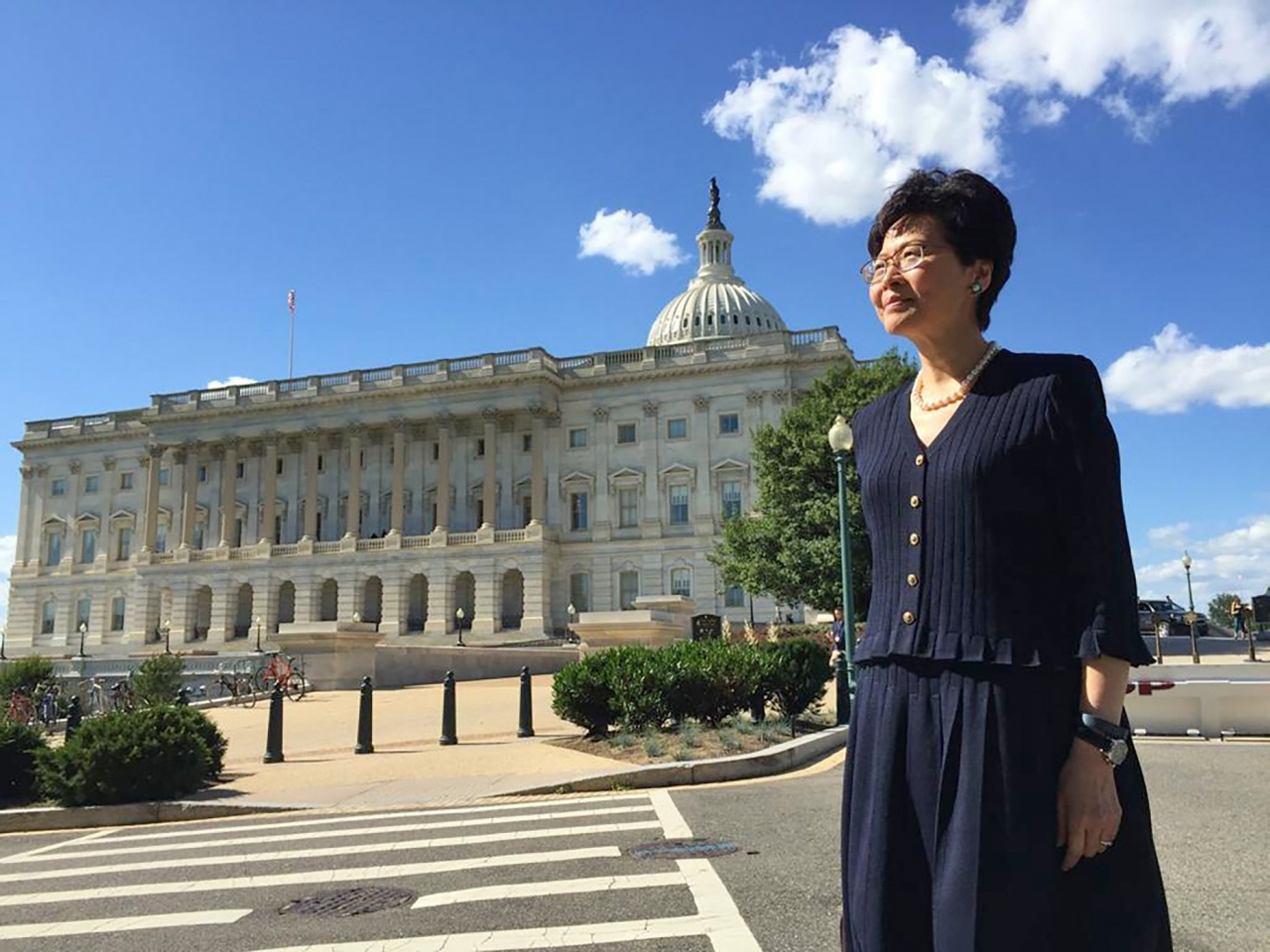 Carrie Lam to cancel US visa in response to sanctions