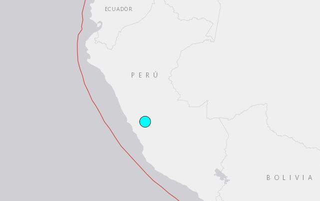 5.0-magnitude quake hits Junin, Peru: USGS