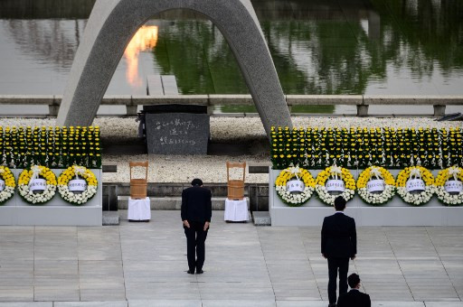 Japan urged to remember WWII atrocities as Nagasaki marks 75th anniversary of atomic bombing by US
