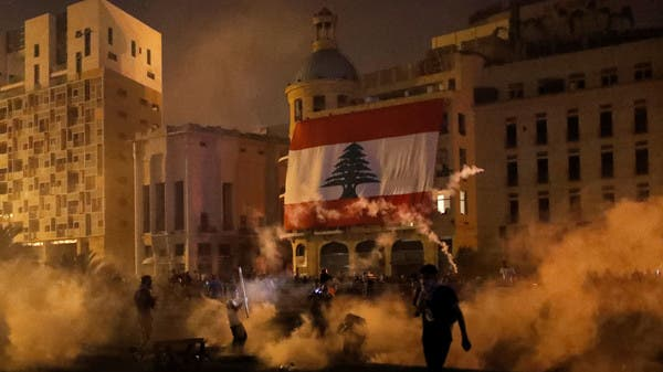105 soldiers injured in Beirut's protests over deadly blast: army