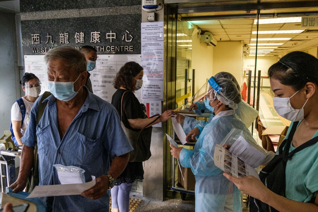 Hong Kong reports 72 new confirmed COVID-19 cases, 4,079 in total