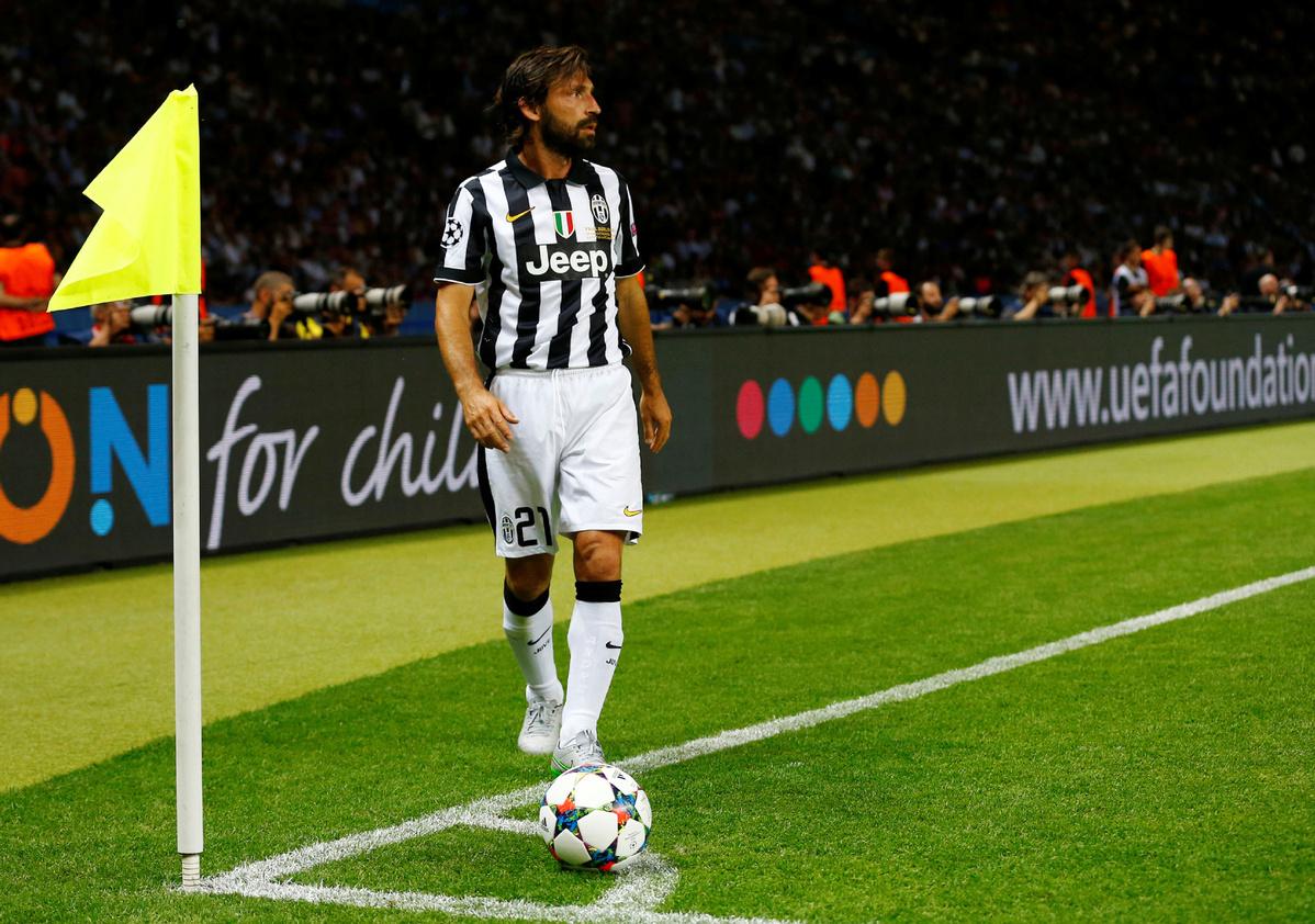 Pirlo to replace Sarri as Juventus manager