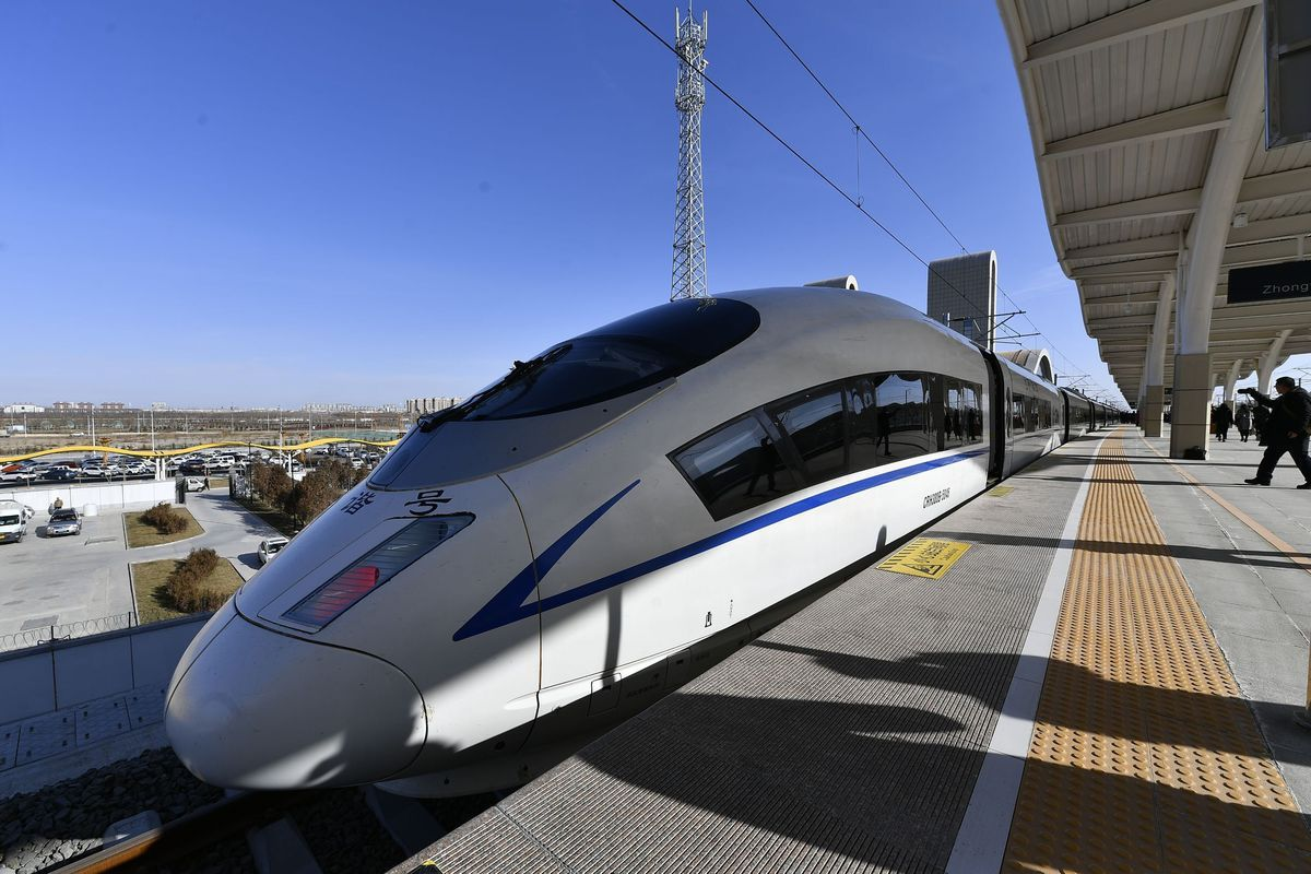China has 36,000 km of high-speed railways by July